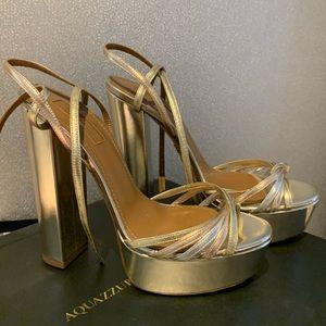 NWT Aquazzura shoes